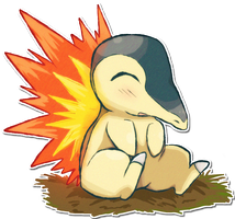 155 Cyndaquil by SarahRichford