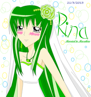 Rina is marry to Masahiro by vivian274