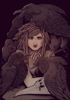 The Ravens by Sanate