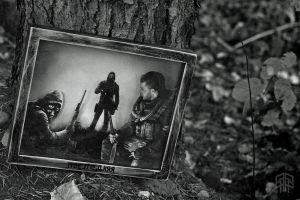-The Last- S.T.A.L.K.E.R. Inspired Shadow Box by ArtisticAxis