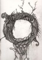 Hand of Ouroboros by boegeob