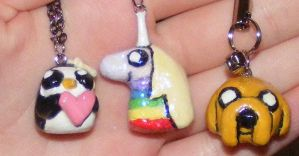 Adventure Time Charms by llalore
