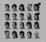Omuni Online: Male Hairstyles by Baranha