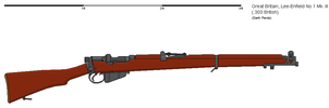 Gunbucket Lee-Enfield MKIII by darthpandanl