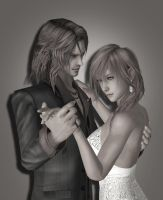 Lightning X Rygdea Pic by SerenaKaori87