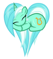 Lyra - Heart Pony by negasun