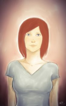 Red Head by tongordin