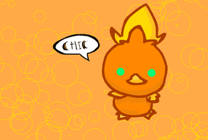 Torchic chibi by Kat-The-Piplup