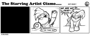 The starving Artist Gizmo 8 by culdesackidz