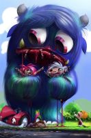 Bad Monster by MaximChiasson