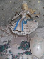 Anime figure with armor~ by AardbeiElfje