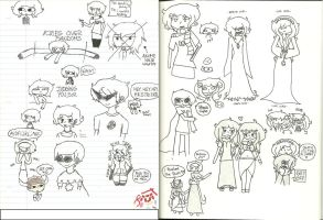 Yes i draw but it's mainly Homestuck at OCs by darkkiller101