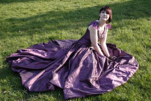 Grape dress 10 by Noirin-Stock