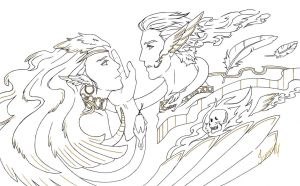 Hermes and Caduceus