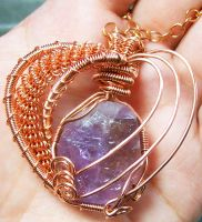 Deep Within Your Heart by HeatherJordanJewelry