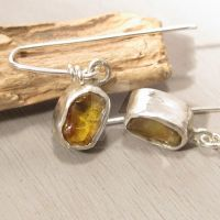 Sunny Amber earrings by Jealousydesign