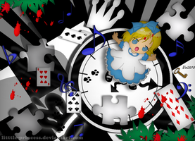Alice in wonderland by litttle-princess