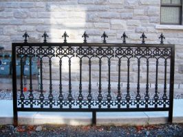 Wrought Iron Fence Segment by SweetSoulSister