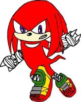 Practice: Knuckles Sonic Boom by tanlisette