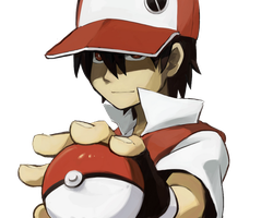 Pokemon Trainer Red Render by OxeyClean