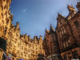 Edinburgh Street Buildings by Estruda