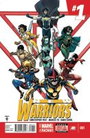 New Warriors volume  5  Issue # 1 cover. by MASTER-OF-SUPRISE