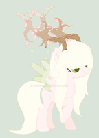 Cherry Blossom Tree Bae Adopt (CLOSED OMF THANKS!) by PriceIess