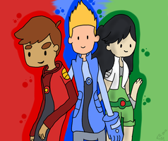 Red,Blue,and Green by TimeForLols