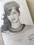 Rihanna by VortexOfSaturn
