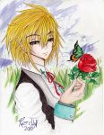 A rose for you by Riz--cHaN