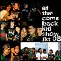 Comeback Kid show by pixellkiller