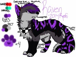 Raven March 2014 Official Ref. by gay-doq-nerd