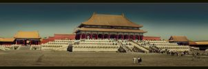 Forbidden City Panorama by sn4rk
