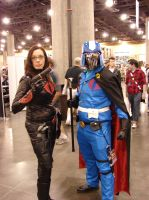 Cobra Commander and the Baroness by starkt2k