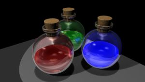 Potion Bottles by King-of-Darkness50