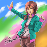 Art Trade with YoriWatanabe by Vinsuality