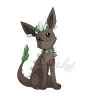 Rock Type Fake Eeveelution 2 by FrightFox