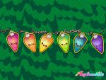 Happy Holidays Acrylicanakids by marywinkler
