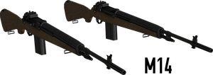 M14 - Rigged by ProgammerNetwork