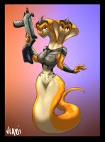 Double Viper by Vladiverse
