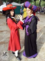 Frollo and Hook by MiracoliCosplay
