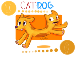 CatDog by chibitracydoodles