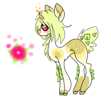 Candle Bud Pony- CLOSED SPECIES (for now at least) by MaggiesAdoptables