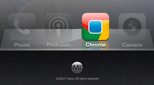 Chrome Icon for iOS by iTomix
