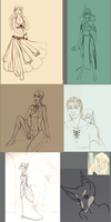 Sketch Dump the Sixth by Lorien077