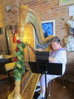 The Christmas Harpist 2 by OwossoHarpist