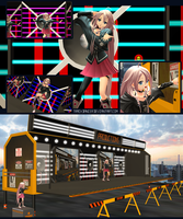 MMD VS Mobile Stage Module Preview by Trackdancer
