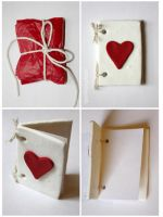 Polymer Clay Love Card by claremanson