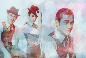Joseph Gordon-Levitt by ohkaylaa