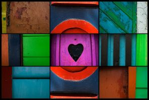 Heart Shaped Blocks by melkin22